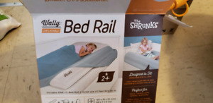Inflatable bed rails