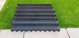 6 x Aco Brickslot Hexdrain A15 Channels