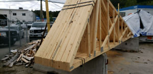 Trusses - brand new 21' + Over hangs