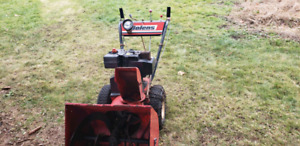 Snowblower and lawn tractor for sale