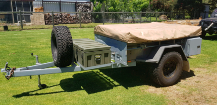 Semi-Offroad Camper Trailer Boyanup Capel Area Preview