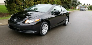 2012 HONDA CIVIC COUPE  LX 018000 KM