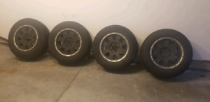 Eagle Alloy Wheels with Firestone Tires