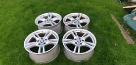 """BMW M sport alloy wheels 18"""""""