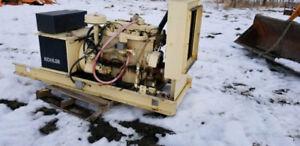 Natural gas/propane 45kw kohler generator