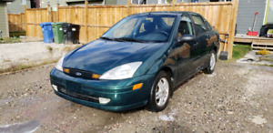 2000 Ford Focus. LOW KMs.