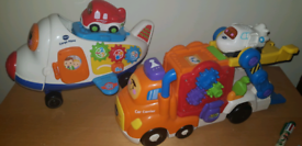 Vtech car carrier and plane