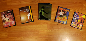 Martial Art DVD collection
