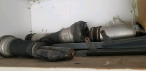 Used front and back Mercedes S class shocks