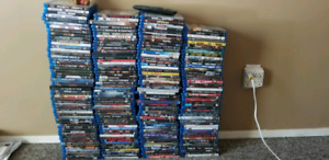 200 Blueray dvds