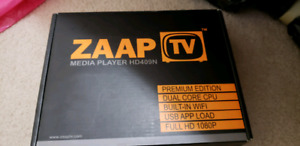Zaap TV device and remote only