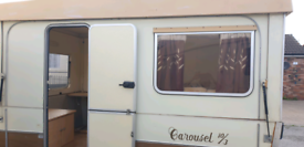 Vintage gobur carousel folding caravan