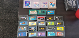 Job lot gameboy advanced games
