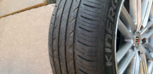"16"" mags +hankook tires (summer)    ... 215/R16 55"