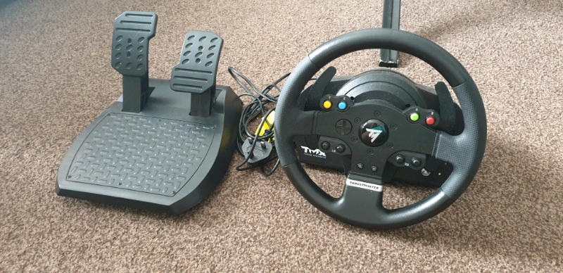 Thrustmaster TMX wheel and pedals for xbox 1 and PC | in Barrhead, Glasgow  | Gumtree
