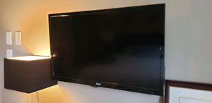 RCA LED T.V with DVD player.