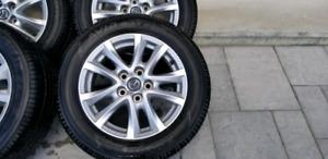 205/60/16 oem 2015 mazda3 mags tires