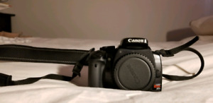 Canon Rebel xTi camera with lense
