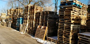 PALLETS/SKIDS WANTED  (CASH PAID)