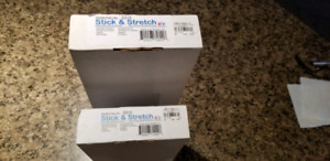 Stick and Stretch Canvas Bars 20 + 20