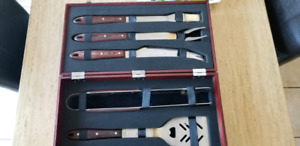 High End BBQ Set with Case NEW