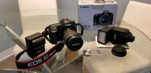 Canon 5D Mark II with lens +++