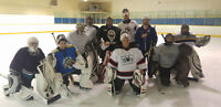 Adult Hockey Goalie Classes Spring Class with Patio - Beer