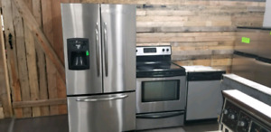 3 piece stainless steel Appliance