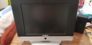 "15"" insignia TV with non working DVD player"