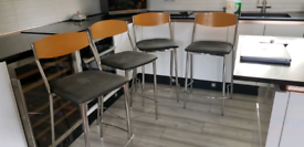 4 Italian made kitchen stools