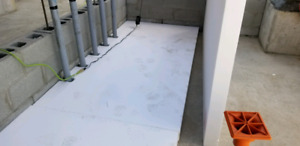 High-density under slab concrete insulation & Geo foam