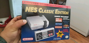 Like new NES Classic Edition with 2nd controller+cable extenders