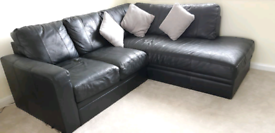 Faux Leather Corner Sofa For Sale £60
