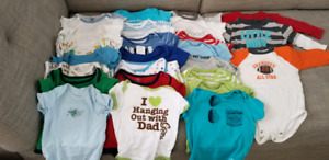 Baby Boys 3-6 months clothing lot