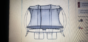 Springfree Medium Oval trampoline with Safety EnclosurAccessi
