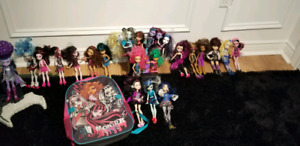 Monster High/Ever After High Dolls and School