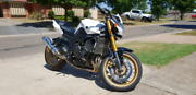 2010 Yamaha FZ8N Wallan Mitchell Area Preview