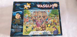 Jigsaw Puzzle Wasgij Antiques Hunt 1000p