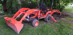 Compact Tractor Backhoe | Kijiji in Ontario  - Buy, Sell & Save with