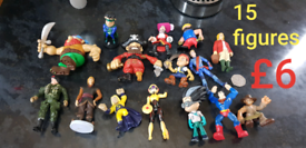 15 figures £6 for them all 50p to show size smoke and pet free home br