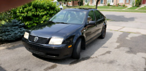 2001 VW Jetta GLX leather, Sunroof AS IS!
