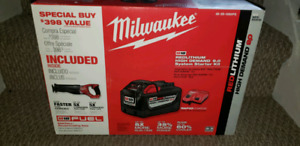 New Milwaukee  sawzall  battery & charger