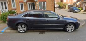 Audi A8L (LONG!) 2007, loaded, pet and smoke free!!! MOT 22/01/2022!!!