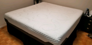 Serta iComfort cool foam KING mattress -$600 obo must sell fast!