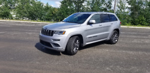 2018 jeep Grand cherokee High Altitude Overland