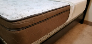 Double size mattress and bed frame