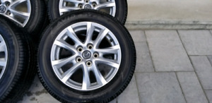 205/55/16 oem mazda3 mags tires 7/32
