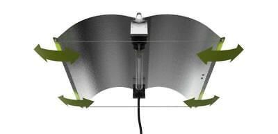 Hydroponics X-LARGE FlexWing Double Ended DE Adjust-Wing Lighting Reflector UK