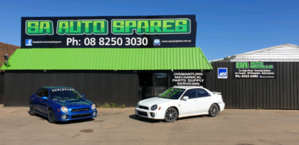 WRECKING SUBARUS. LOTS IN STOCK. CALL US TODAY!!! Para Hills West Salisbury Area Preview