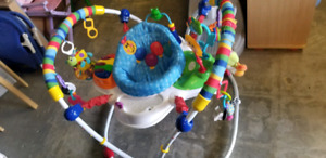 Jumperoo @ clic klak mississauga used toy warehouse